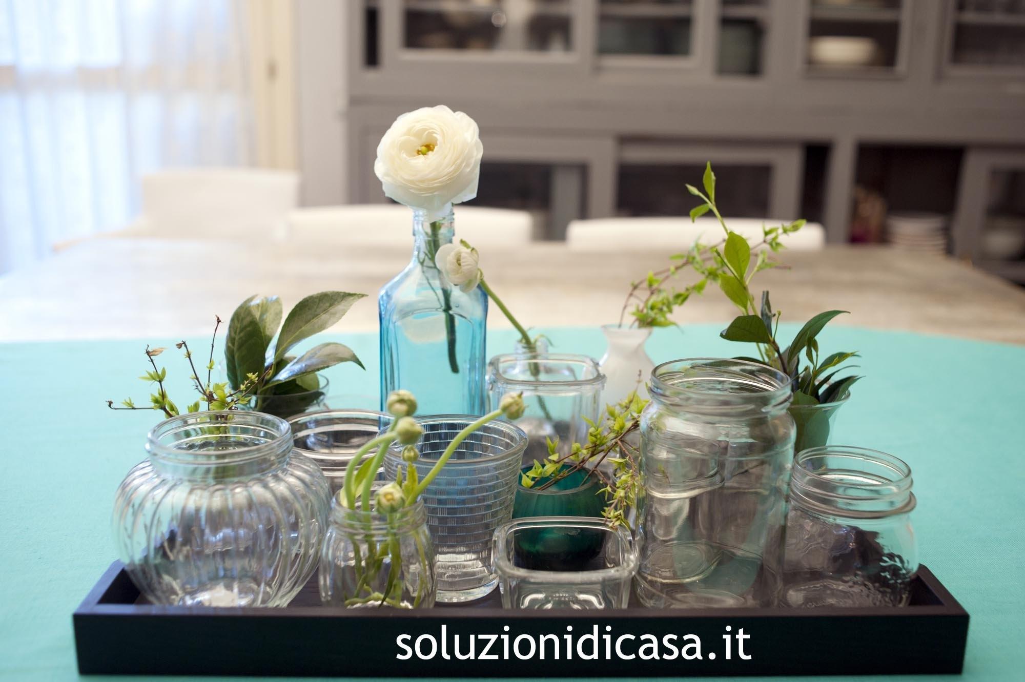 Come utilizzare vasi di vetro tutti insieme soluzioni di for Vasi ermetici vetro