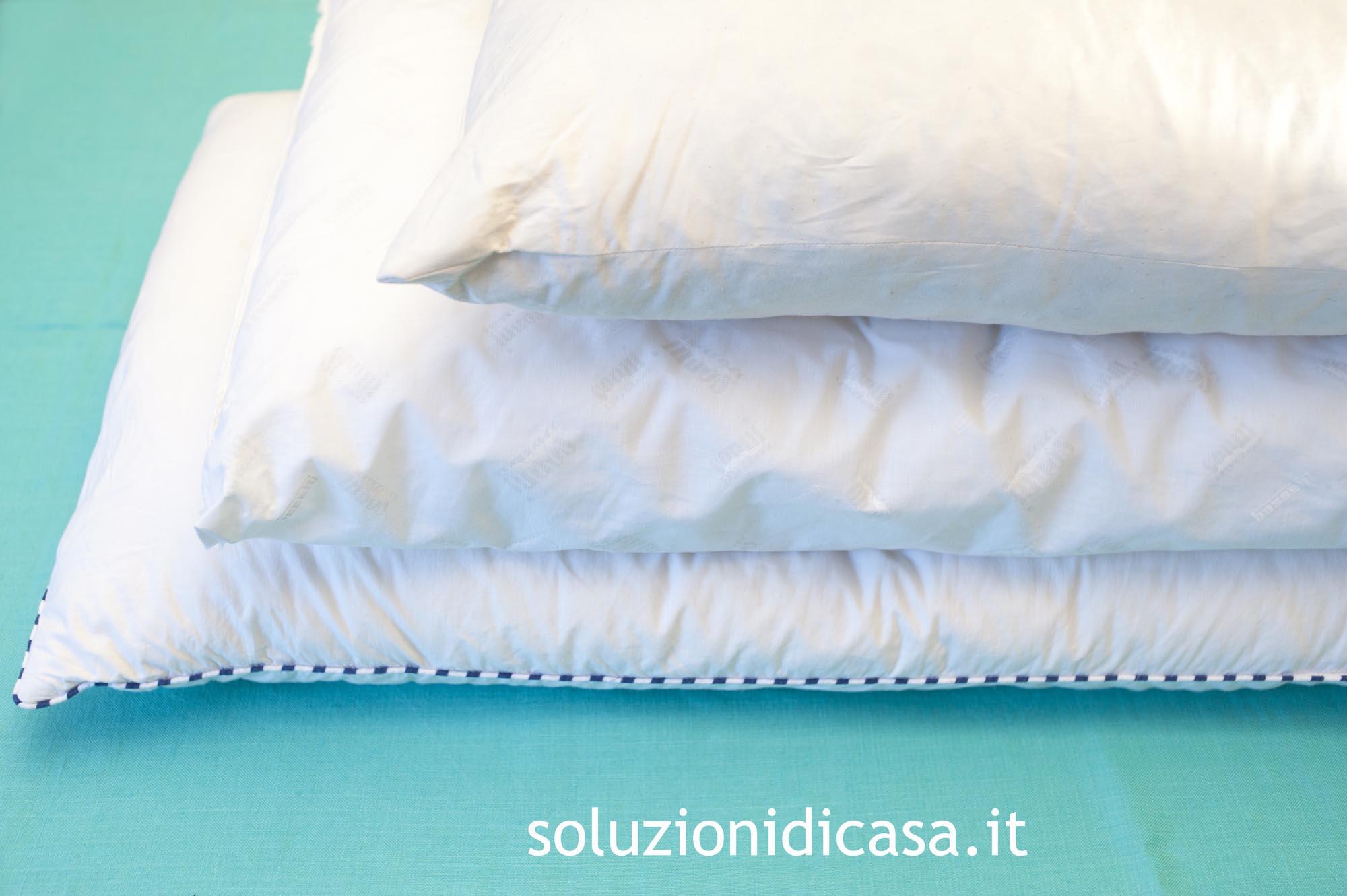 Cuscino Cervicale Come Usarlo.Come Lavare I Cuscini Soluzioni Di Casa