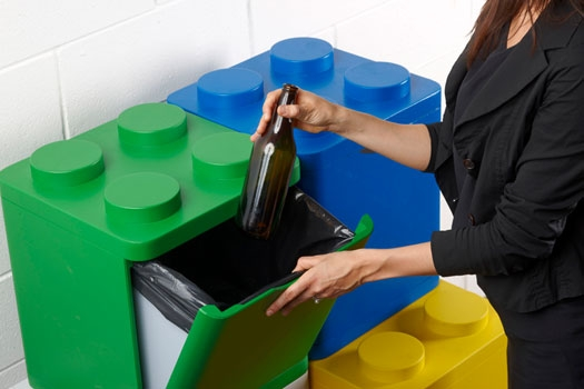 I contenitori dei rifiuti per la raccolta differenziata for Contenitori immondizia ikea