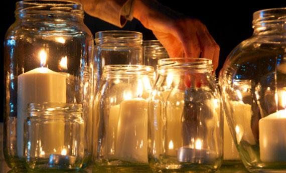 Portacandele Da Giardino : Come creare un porta candele fai da te soluzioni di casa