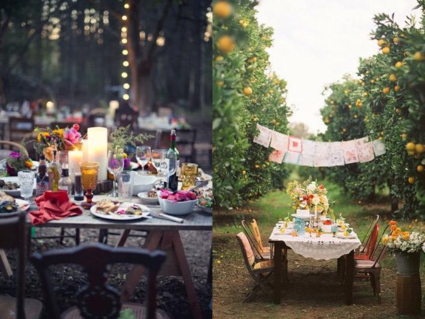 Come organizzare una festa di compleanno in giardino - Idee per giardini di casa ...