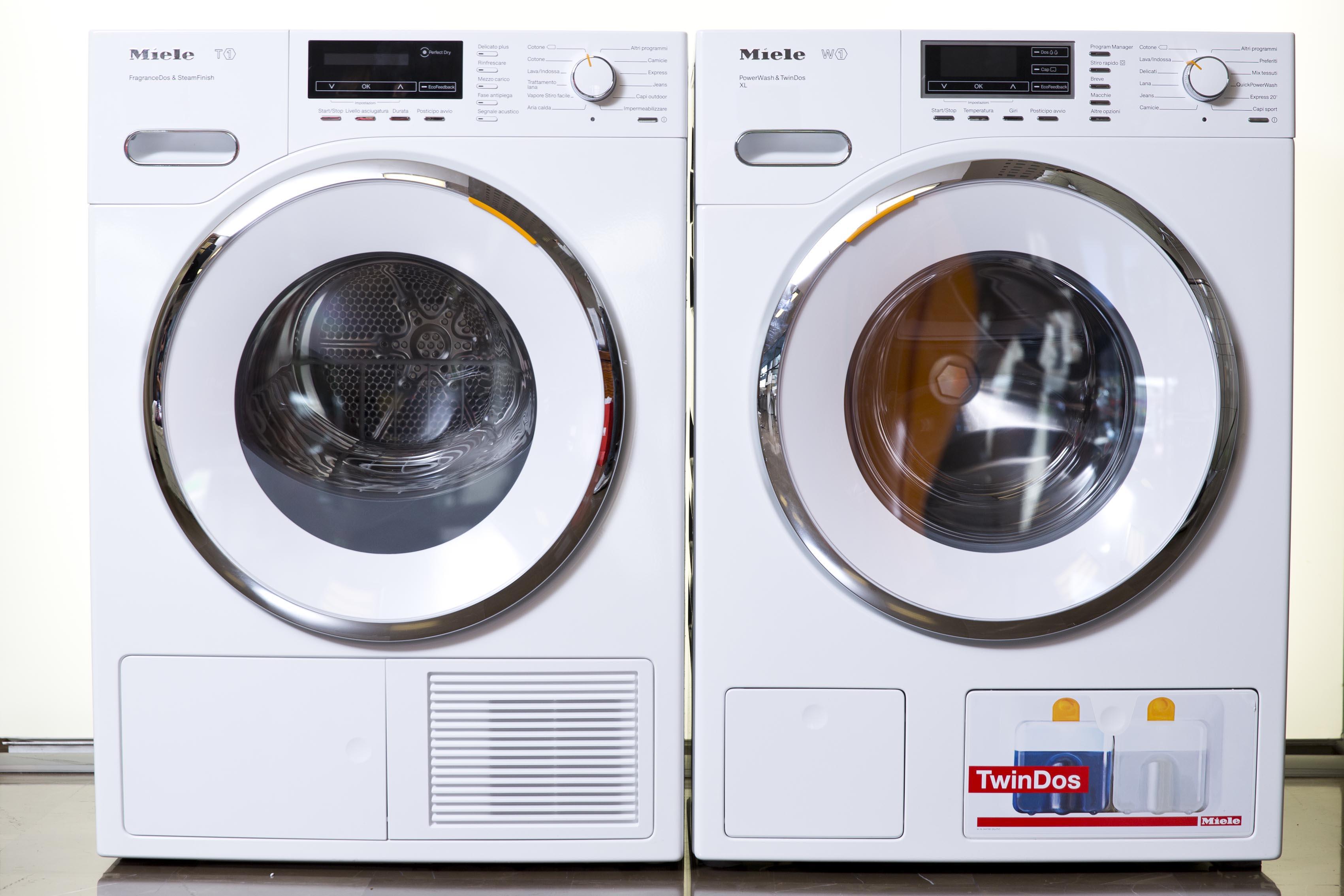Lavatrici w1 miele soluzioni di casa for Lavatrice si blocca durante il lavaggio