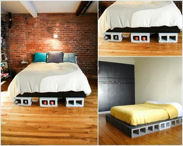 Come realizzare mobili di mattoni soluzioni di casa - Mobili rustici fai da te ...