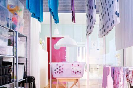 Dove e come stendere quando piove soluzioni di casa - Asciugare panni in casa ...