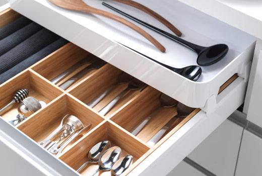 Come organizzare il cassetto delle posate   soluzioni di casa