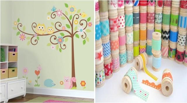 Strisce decorative adesive per pareti