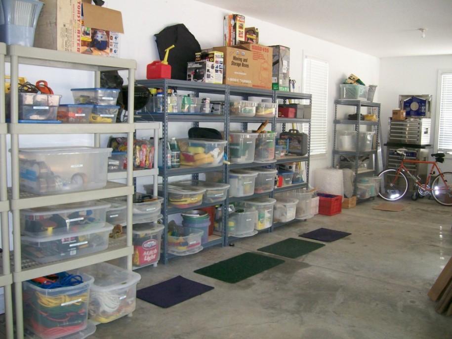Come pulire e organizzare il garage soluzioni di casa