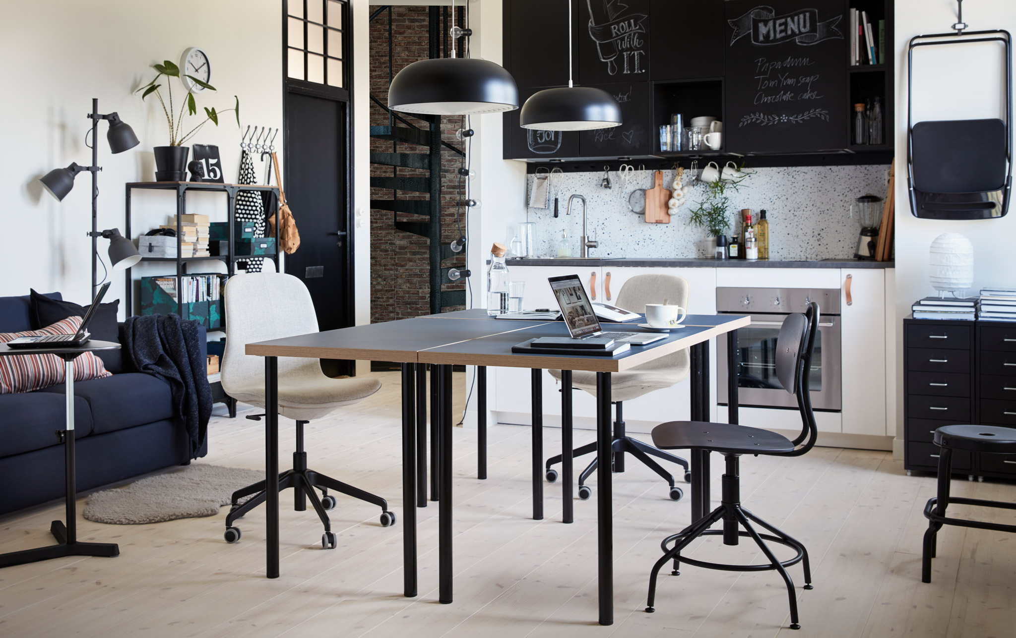 Ufficio in casa smart e in ordine soluzioni di casa for Lavette ikea a cosa servono