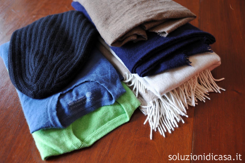 big sale dc2d1 fd7ca Come lavare i capi di cashmere - Soluzioni di Casa