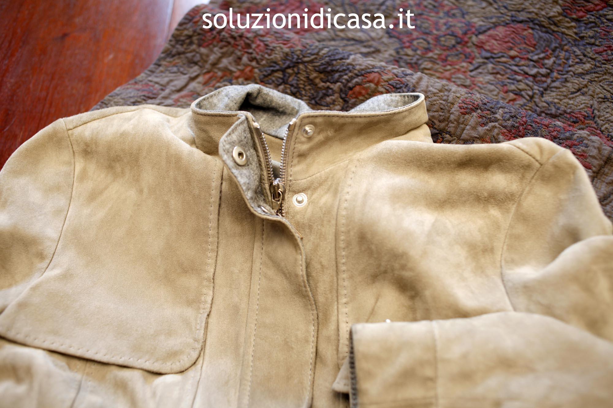 Macchie Di Unto Sulla Pelle come pulire le giacche di renna - soluzioni di casa