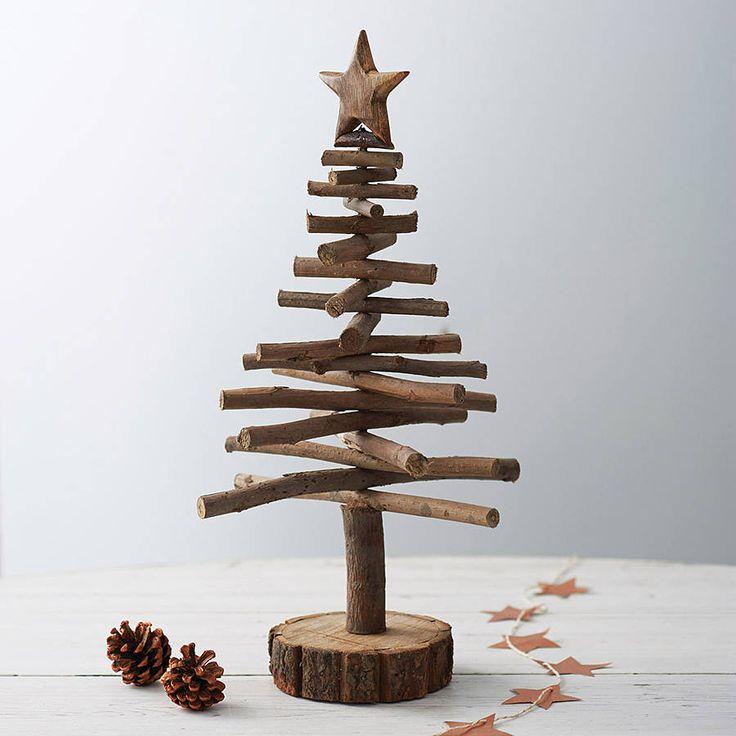 Albero Di Natale Legno Fai Da Te.Come Costruire Un Albero Di Natale Soluzioni Di Casa